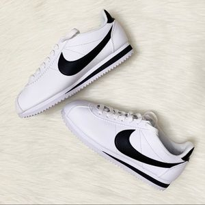 NIB Nike Classic Cortez Leather Sneaker White